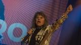 Suzi Quatro se svou Rock And Roll basou vyprodala velký sál Lucerny v Praze. (33 / 55)