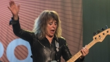 Suzi Quatro se svou Rock And Roll basou vyprodala velký sál Lucerny v Praze. (53 / 55)