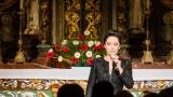 Adventní koncert Lucie Bílé v kostele v Obořišti (24 / 27)