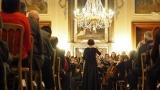 Příbramská filharmonie v zrcadlovém sále dobříšského zámku (1 / 26)