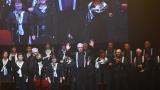 Dušan Vančura se Spirituál kvintetem  a hosty velkolepě oslavil v nabité Lucerně své osmdesátiny (54 / 58)