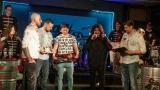 Na křest desky nového hudebního projektu bubeníka Tokhiho dorazila celá řada známých tváří v čele s Ilonou Csákovou, Miro Šmajdou a Michalem Kavalčíkem (10 / 39)