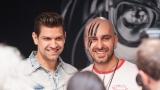 Na křest desky nového hudebního projektu bubeníka Tokhiho dorazila celá řada známých tváří v čele s Ilonou Csákovou, Miro Šmajdou a Michalem Kavalčíkem (37 / 39)