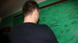 Michal Kindl na zdi slavných příbramského D-klubu (48 / 49)