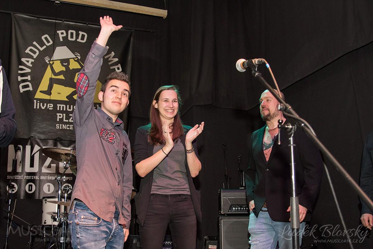 Vítězná kapela v diváckém hlasování - Vulcano Band