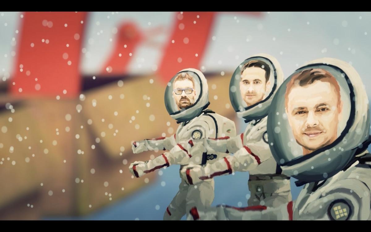 """""""Naše vesmírné putování blíže neurčenou …"""