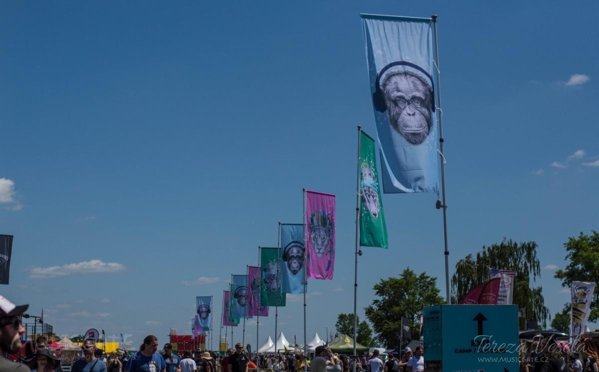 Hlavní tepna festivalu
