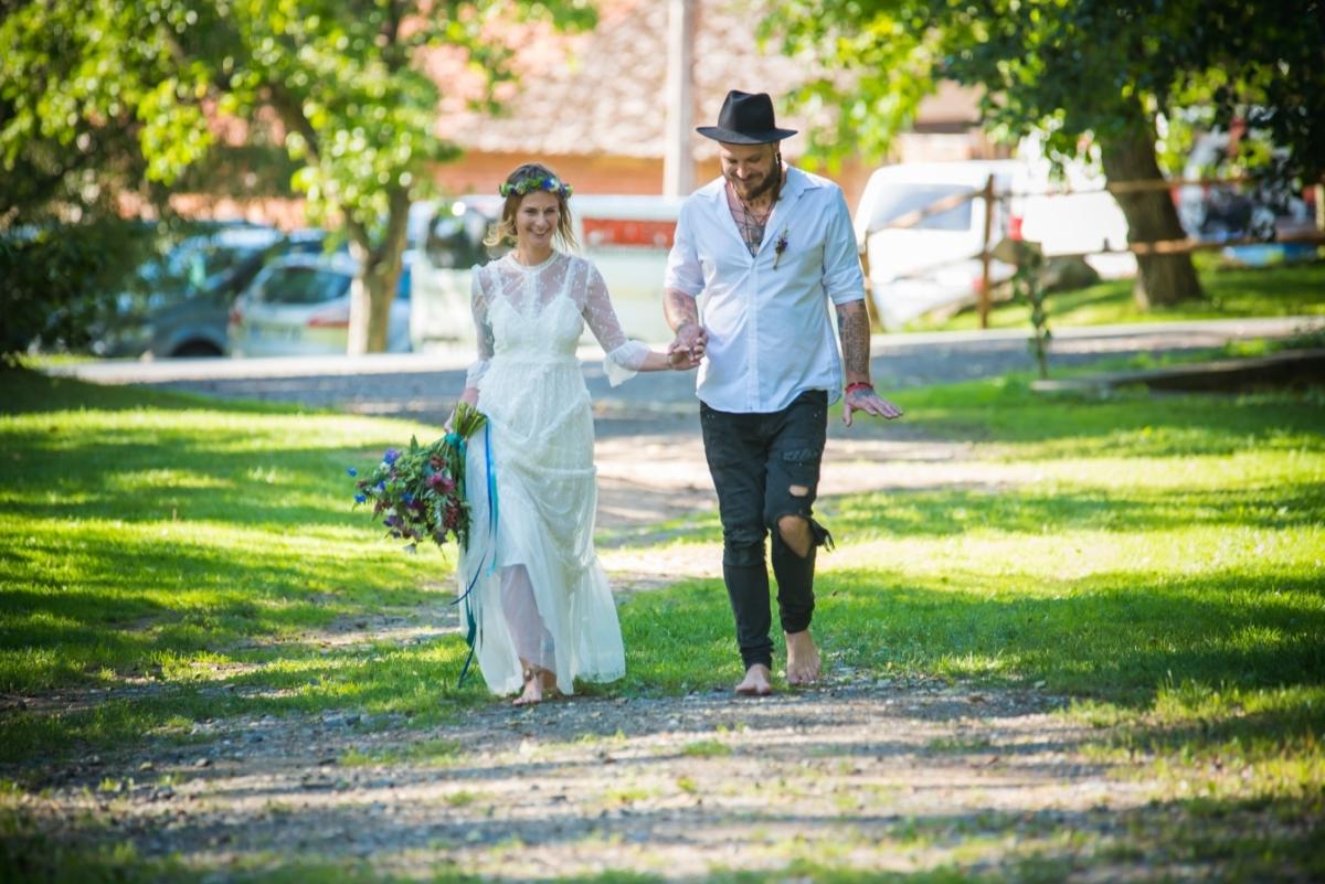 Svatba se konala na romantickém mlýně Davídkov …