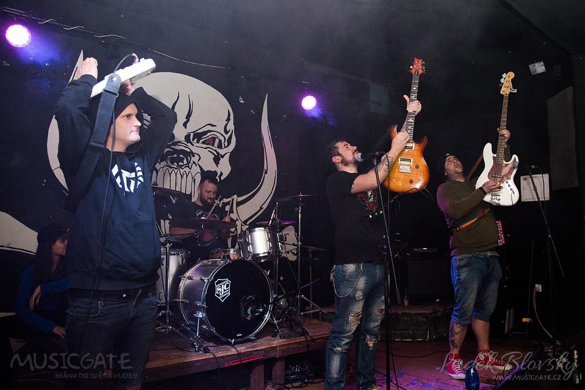 Štěpán Soukup se svojí kapelou