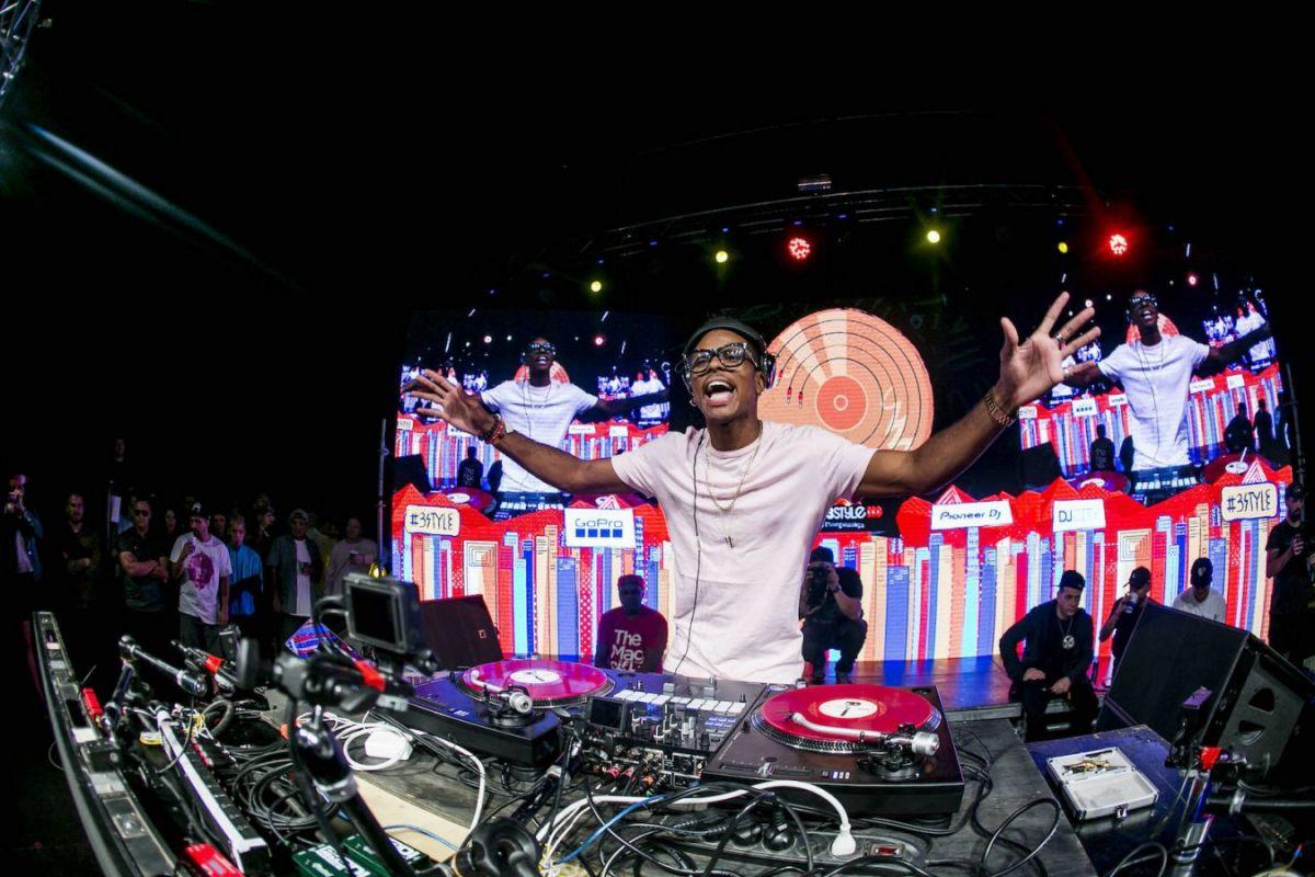 DJ Puffy se dá jednoduše popsat jako nezkrotný …