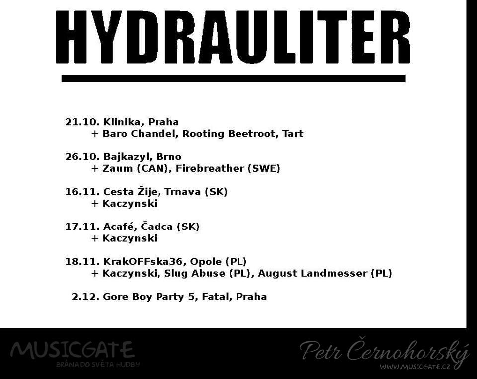 Hydrauliter máte možnost vidět na podzimním …