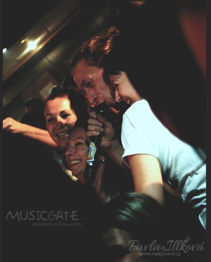 Selfíčko focené při koncertu s Tomem musí …