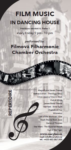 Členové Filmové filharmonie zahrajív …