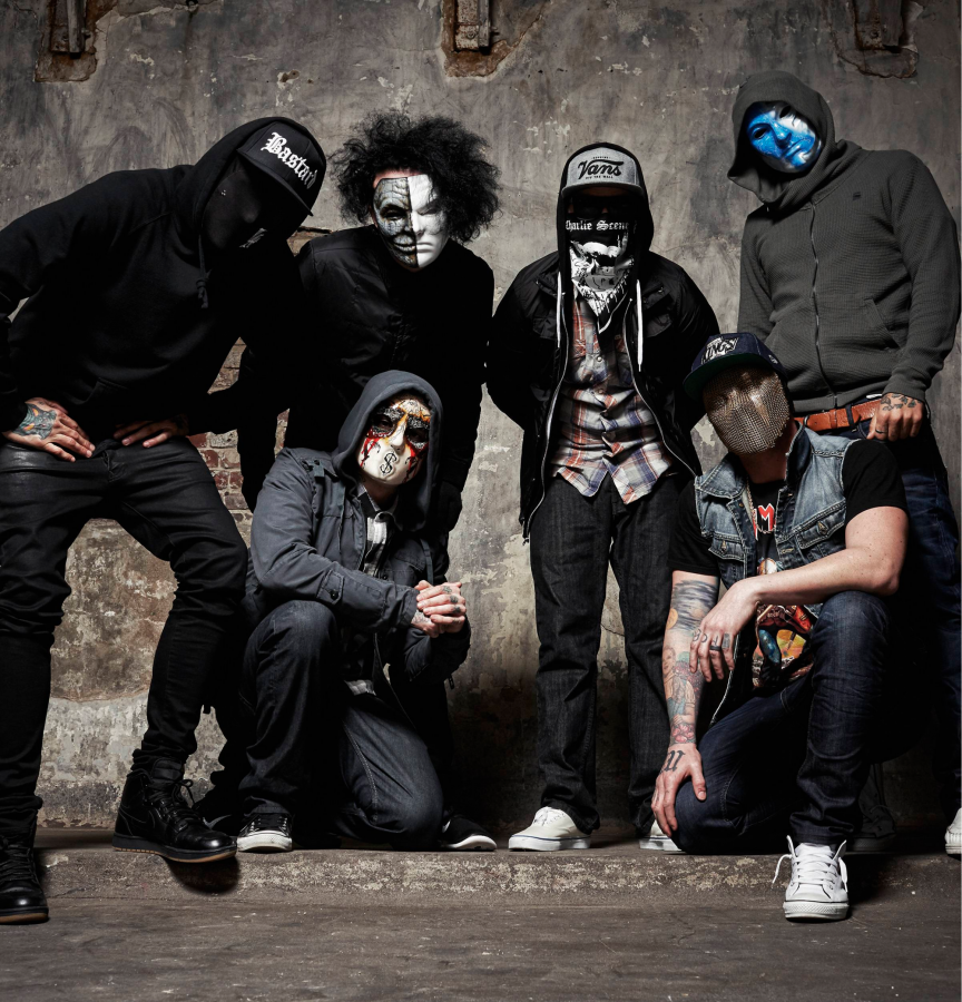 Hollywood Undead, je americká rapcorová kapela …