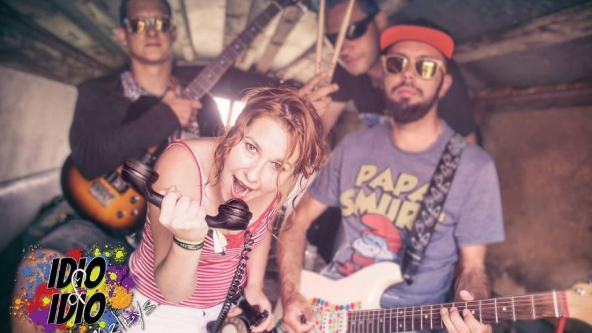 Ústecká punk-rocková smečka IDIO&IDIO …