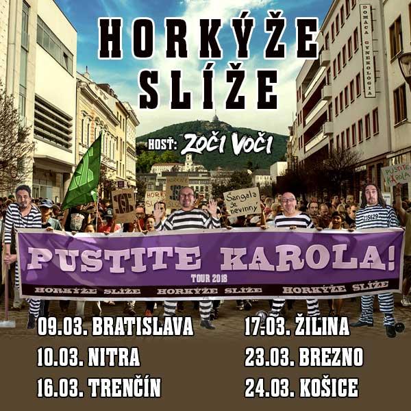 Slovenská punkrocková skupina Horkýže Slíže má …