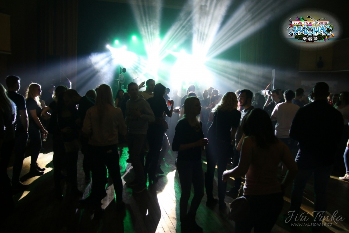 párty Mácháč club tour 2018 v Březnici