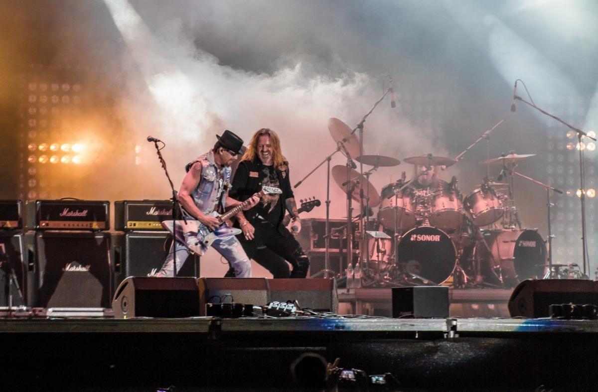 Festivalová stálice, česká rocková legenda …