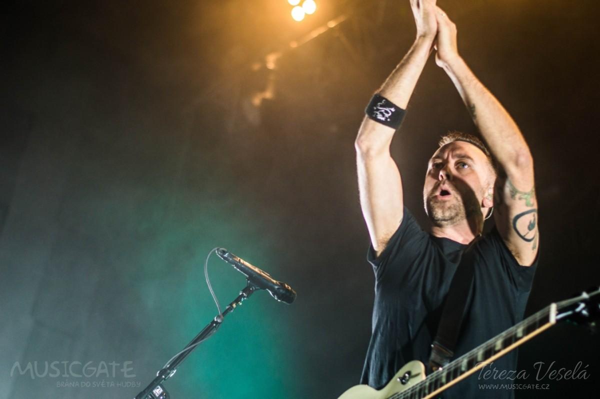 Frontman Rise Against Tim McIlrath