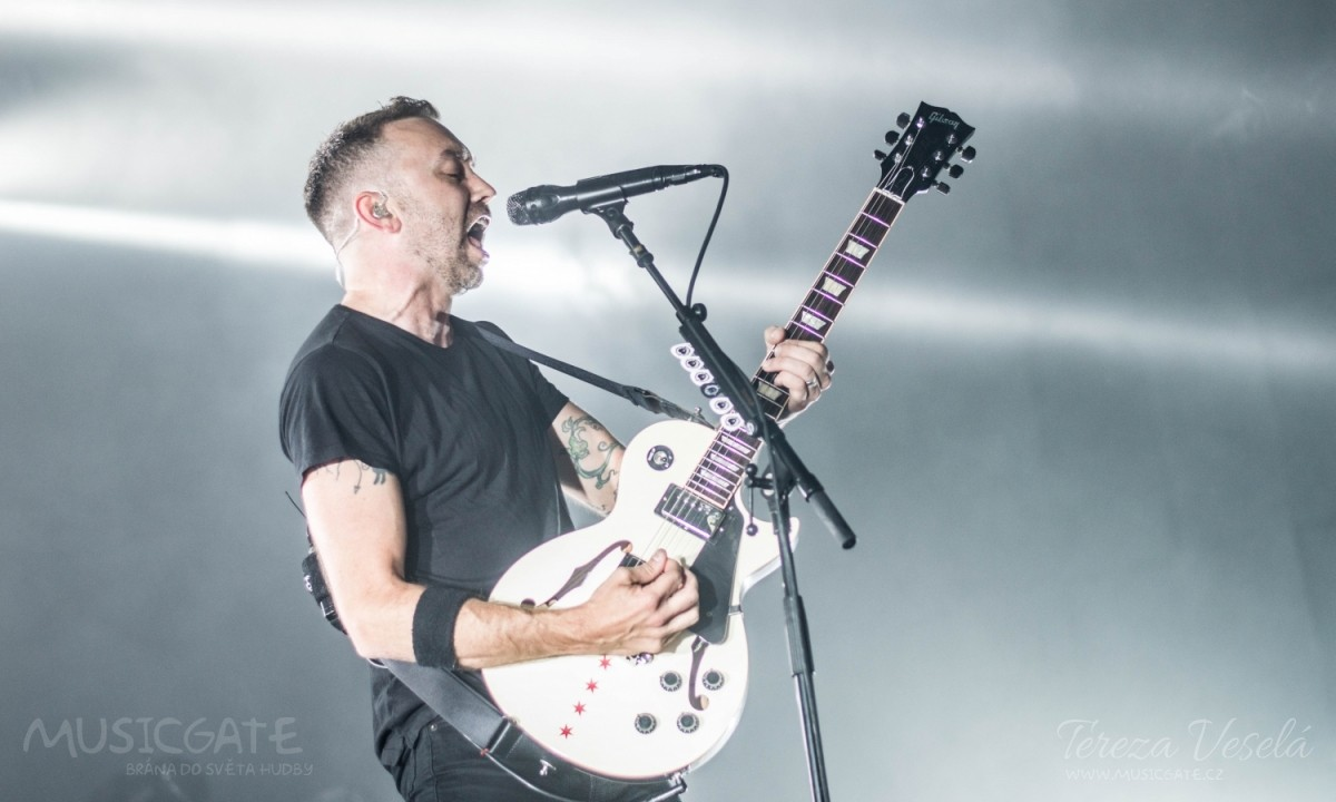 Frontman Rise Against - Tim McIlrath