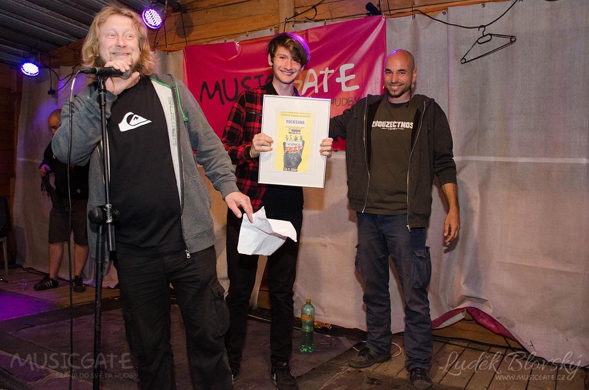 Rocksana - vítěz hudebního festivalu Voznice