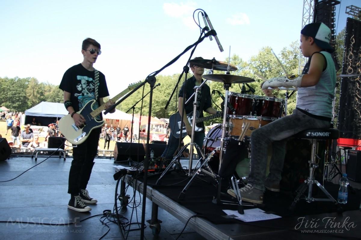 Rocksana na festivalu Přeštěnice 2018