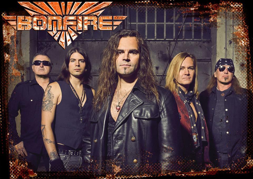 Matador světové hudební scény – kapela Bonfire …