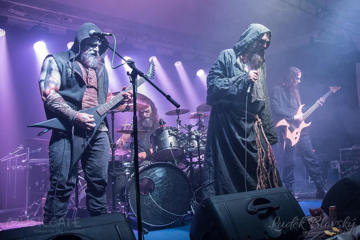 Black metalová banda Kraake z Ústí nad Labem …