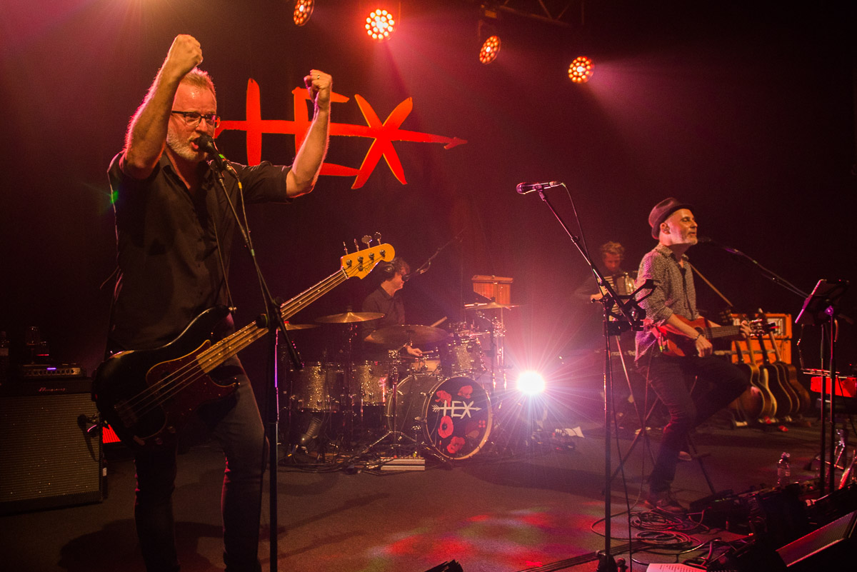Skupina HEX si poprvé na jednom pódiu zahrála …