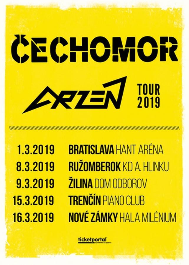 Na aktuální turné skapelou Čechomor si …