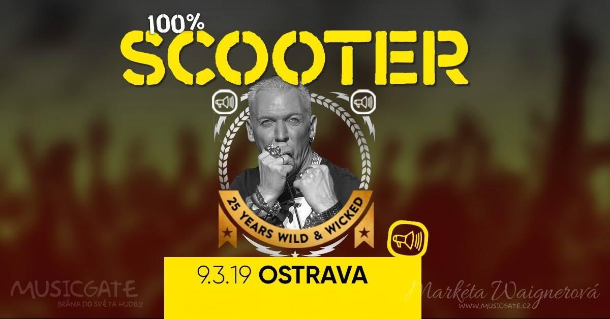 Legendární Scooter oslaví na jaře v Ostravě …