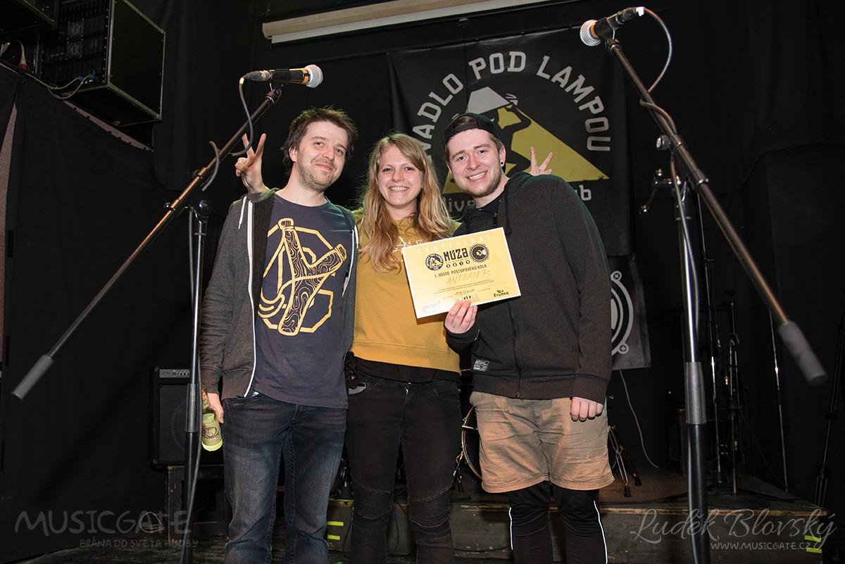 Vítězná kapela Anteater