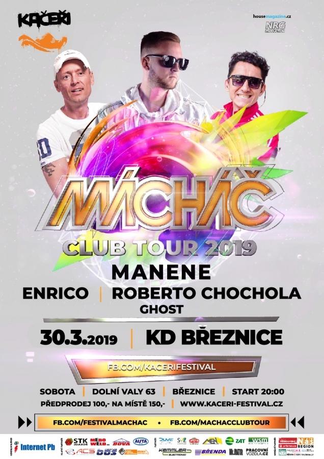 Již 30. března do Březnice zavítá klubová tour …