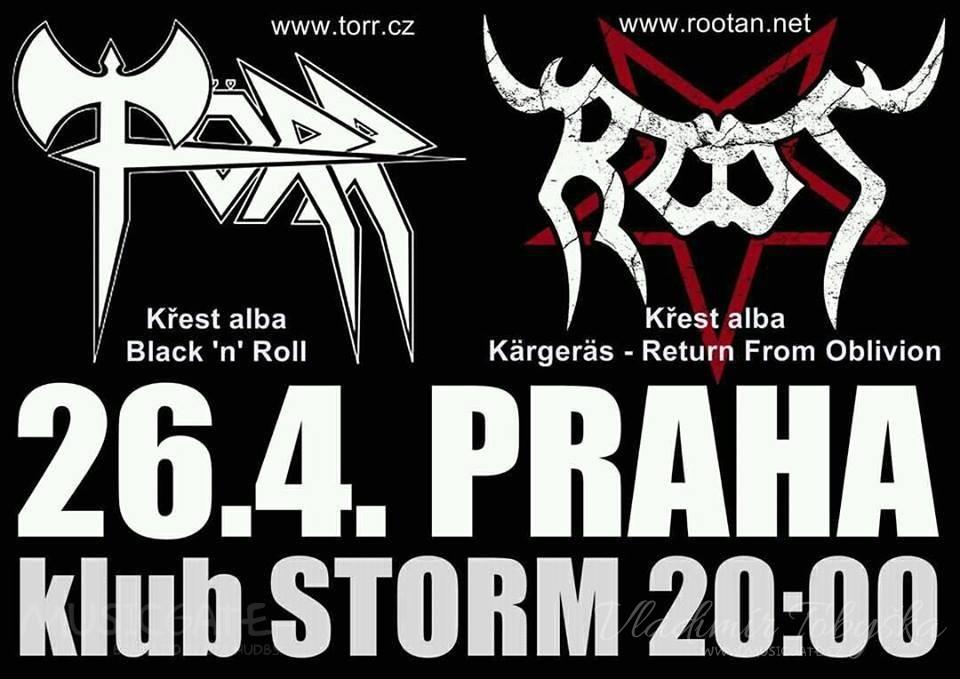 661e3d05f0d Törr a Root spolu pokřtí nová alba! na MUSICGATE.cz (projděte bránou ...