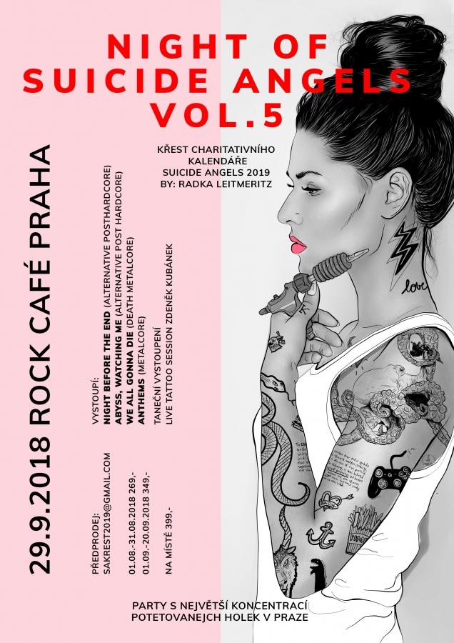 940d8e821a TETOVÁNÍ A CHARITA  26. září 2018 (14 25)Suicide Angels jsou komunita  krásných potetovaných dívek a žen