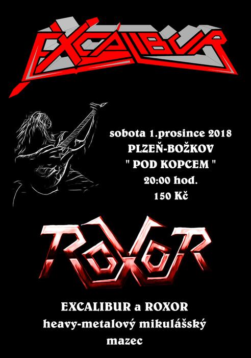 Excalibur a Roxor aneb pravý mikulášský heavy metalový mazec v Božkově 9065f19d88