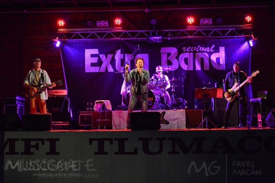 Extra Band revival zahájí podzimní sezónu  v Mrákově!