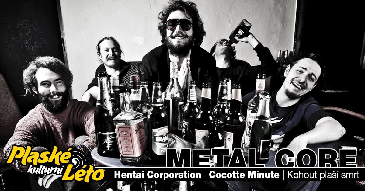 Plasy zvou na Metal core night