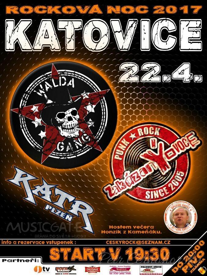 Rocková noc v Katovicích 2017