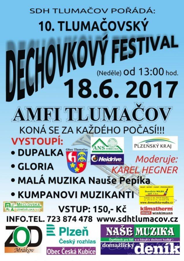 10. Tlumačovský dechovkový festival