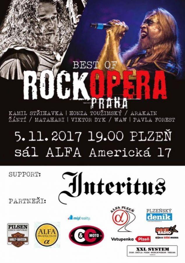 RockOpera Praha exkluzivně po roce zavítá do Plzně