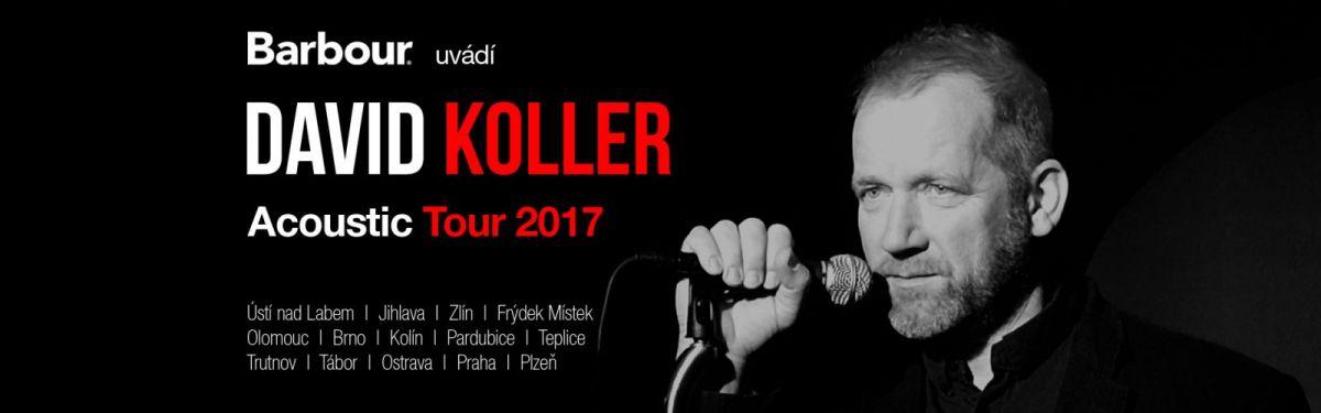 David Koller a akustické turné je tady!