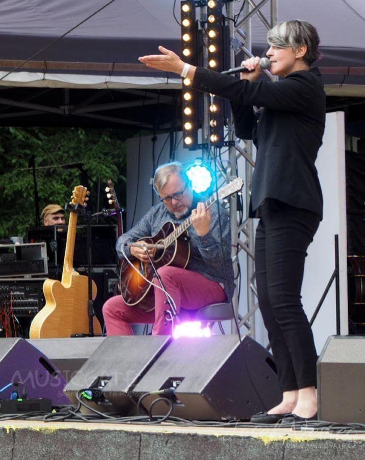 Michal Pavlíček & Monika Načeva v Příbrami