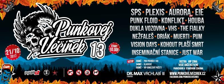 Punkovej Večírek 13! ve Vrchlabí