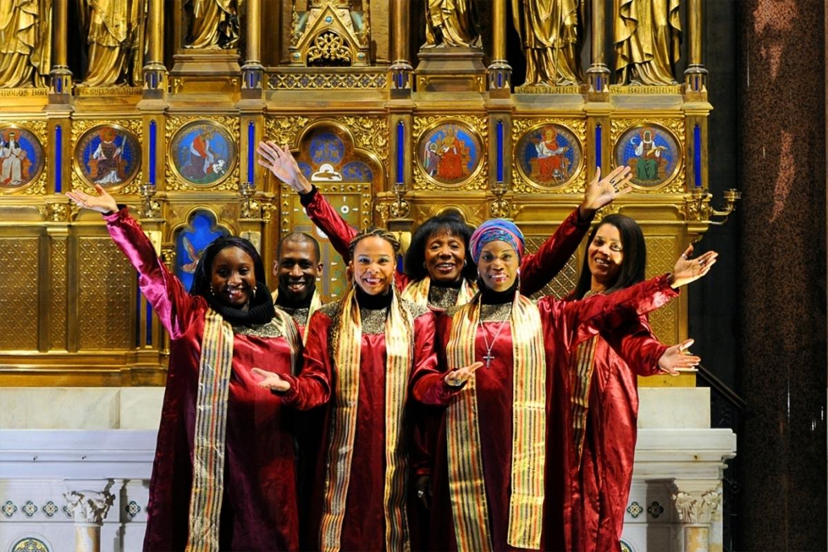 Výjimečný gospelový soubor Stella Jones & The Christmas Singers