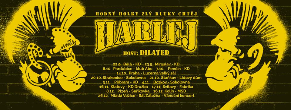Soutěž o vstupenky na Harlej v Příbrami!