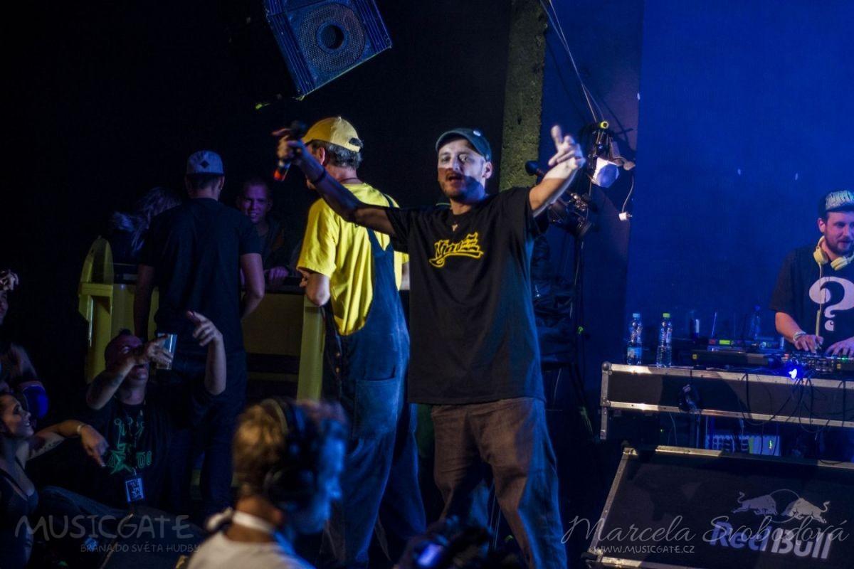V Praze se v sobotu konalo Světové finále rapové soutěže End Of the Weak.