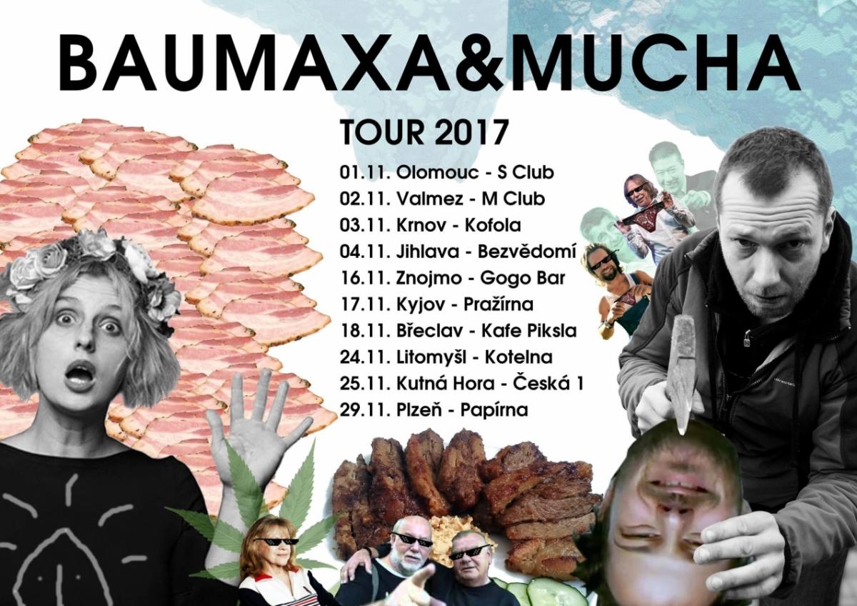 Xavier Baumaxa + Mucha (4. 11.) v Bezvědomí v Jihlavě