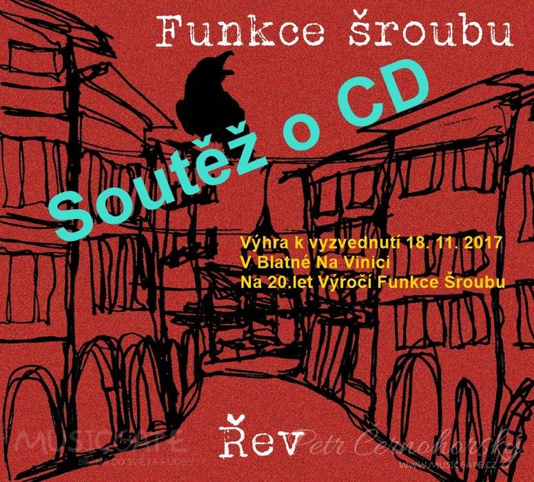Soutěž o CD kapely Funkce Šroubu