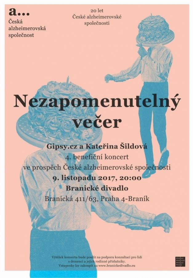 4. benefiční koncert pro Českou alzheimerovskou společnost